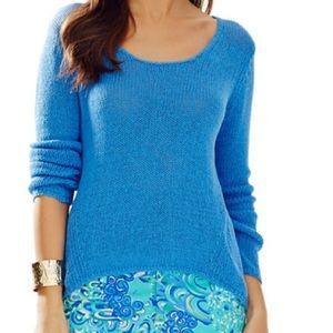 Lilly Pulitzer | Amory High Low Hem Sweater Size S